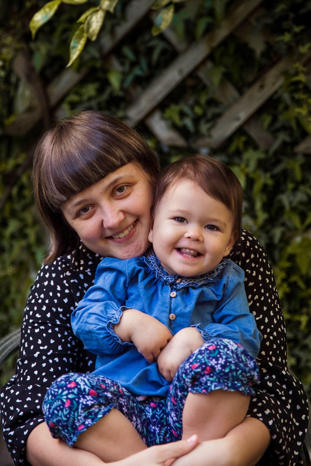 Михаэла Норок и её дочь Наталья