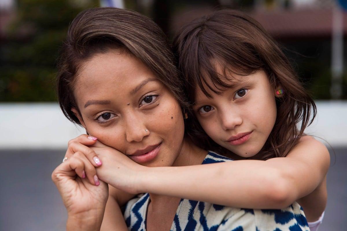 Миа из Сингапура и её дочь Хейли (Бангкок, Таиланд)