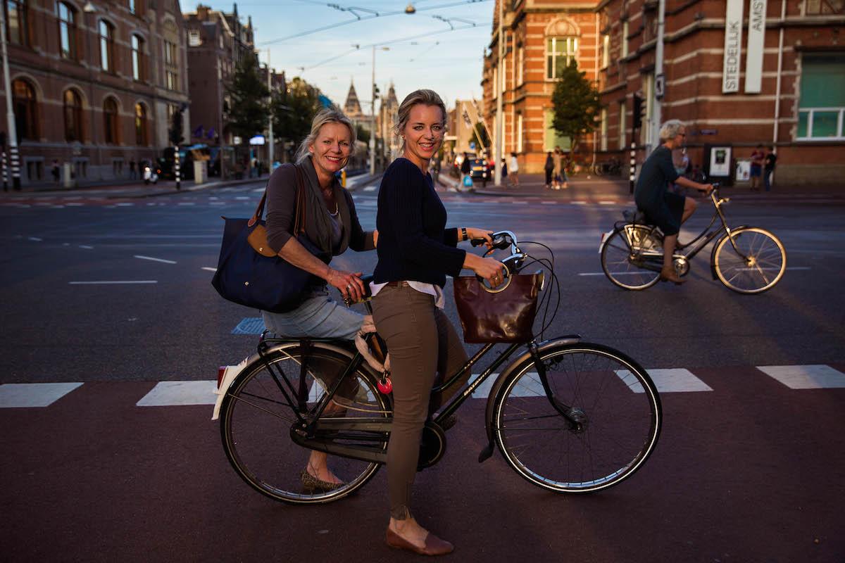 Анс и ее дочь Марлоус (Амстердам, Нидерланды)