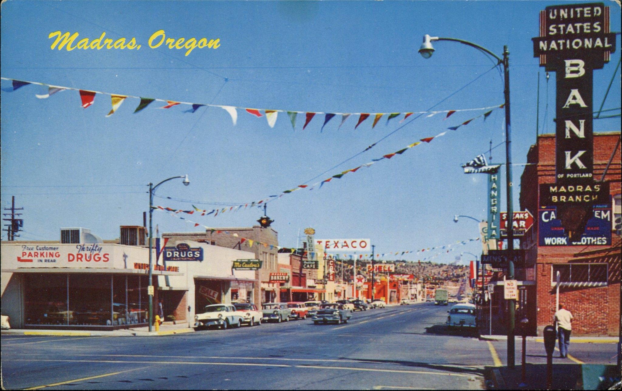 Мадрас, Орегон