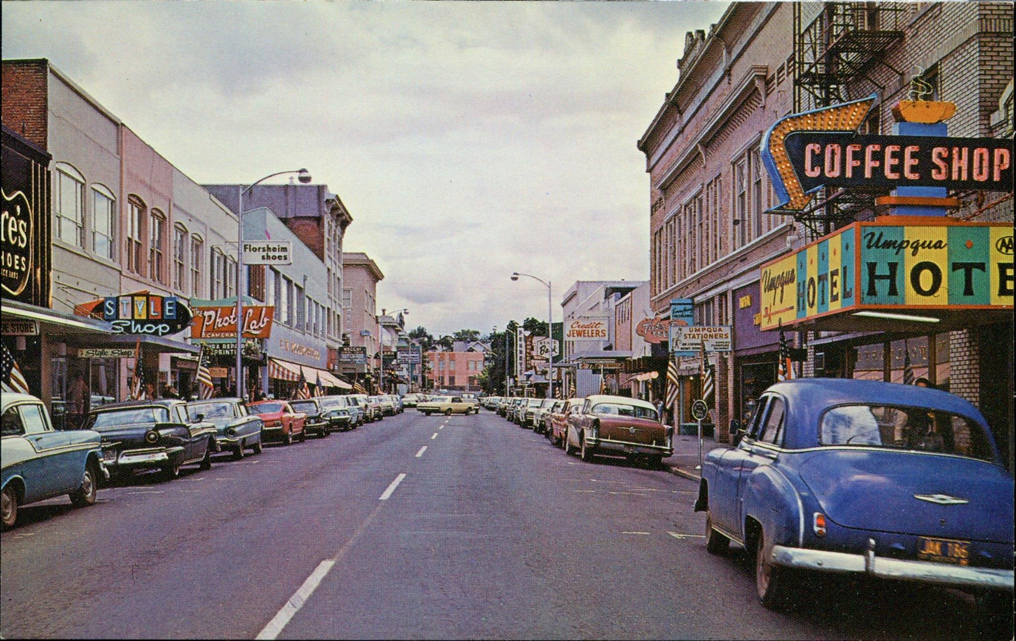 Розберг, Орегон