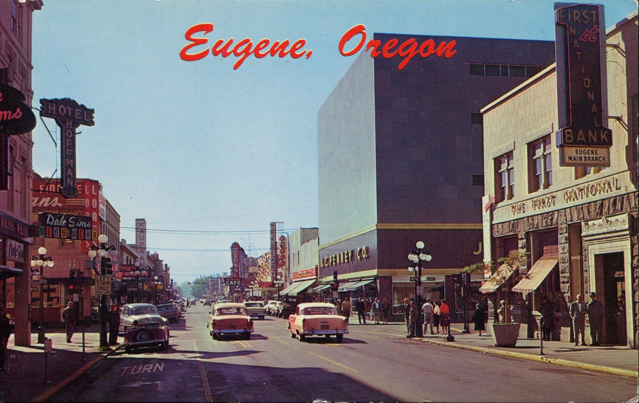 Юджин, Орегон