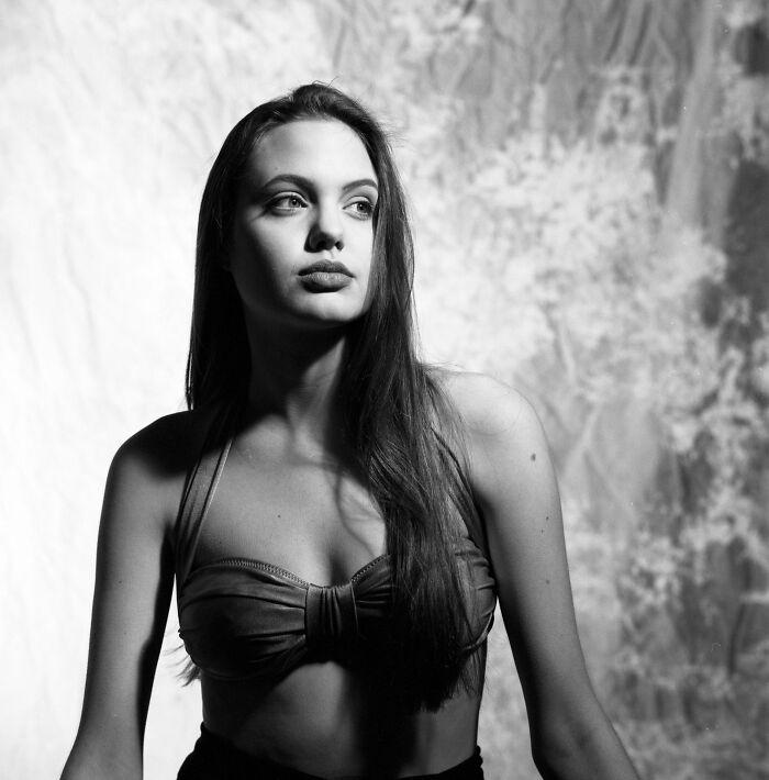 16-летняя Анджелина Джоли, 1991 год