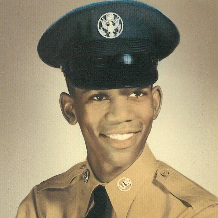 Морган Фриман в ВВС, между 1955 и 1959 годами