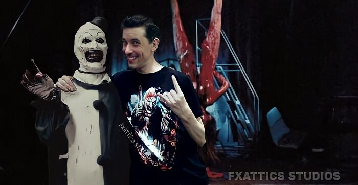 Клоун и Дэвид Ховард Торнтон, «Ужасающий»