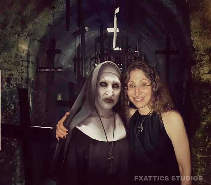 Демон Валак и Бонни Ааронс, «Проклятие монахини»