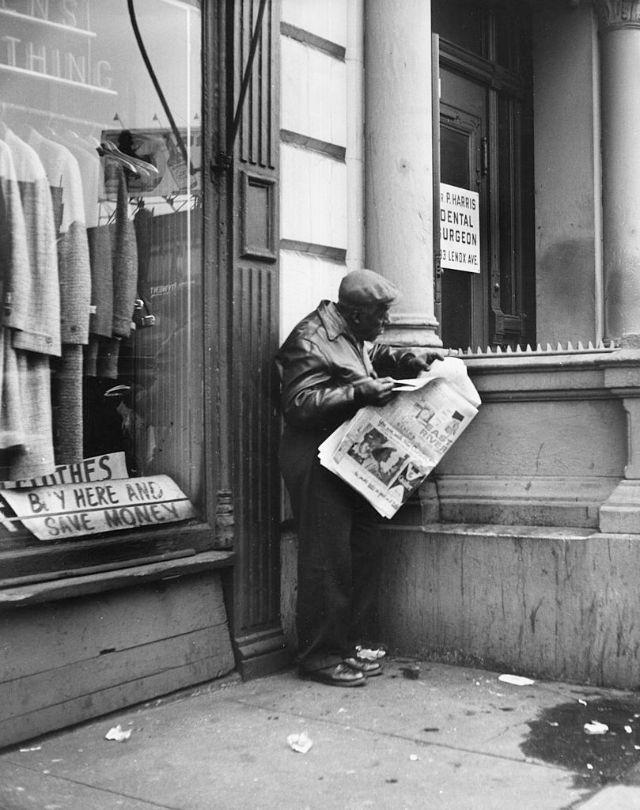 Чёрно-белые снимки жителей Гарлема 1950-х годов