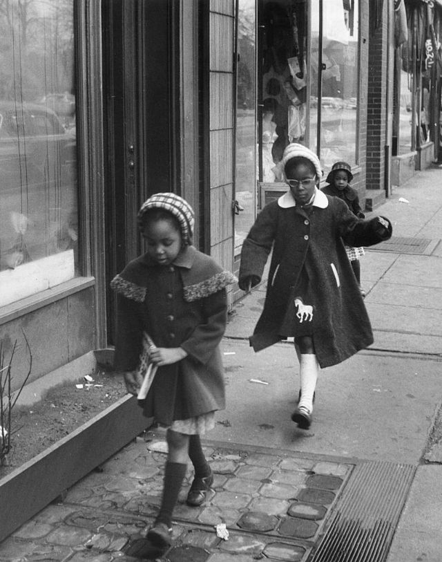 Жители Гарлема 1950-х годов
