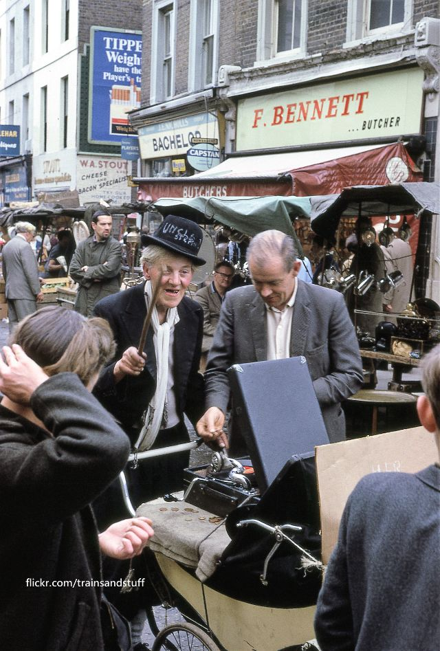 Очаровательные цветные фотографии Лондона 1960-х годов