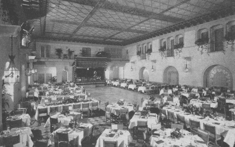 Отель «Голливуд Рузвельт», 1929 год