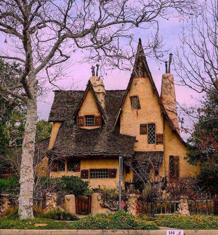 Дом будто из сказки