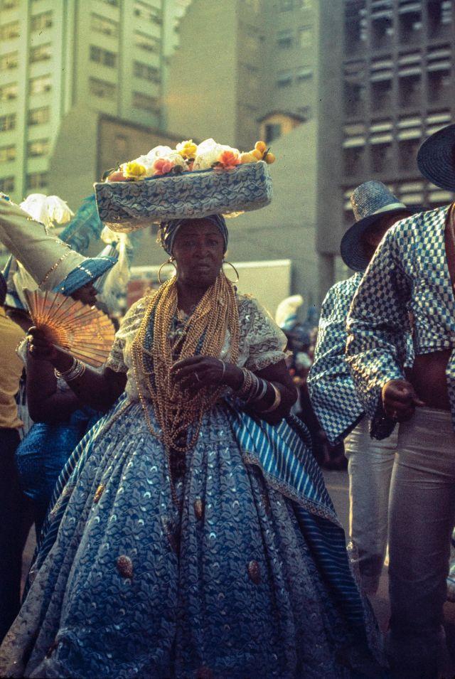 Рио-де-Жанейро в 1970-е годы на увлекательных фотографиях