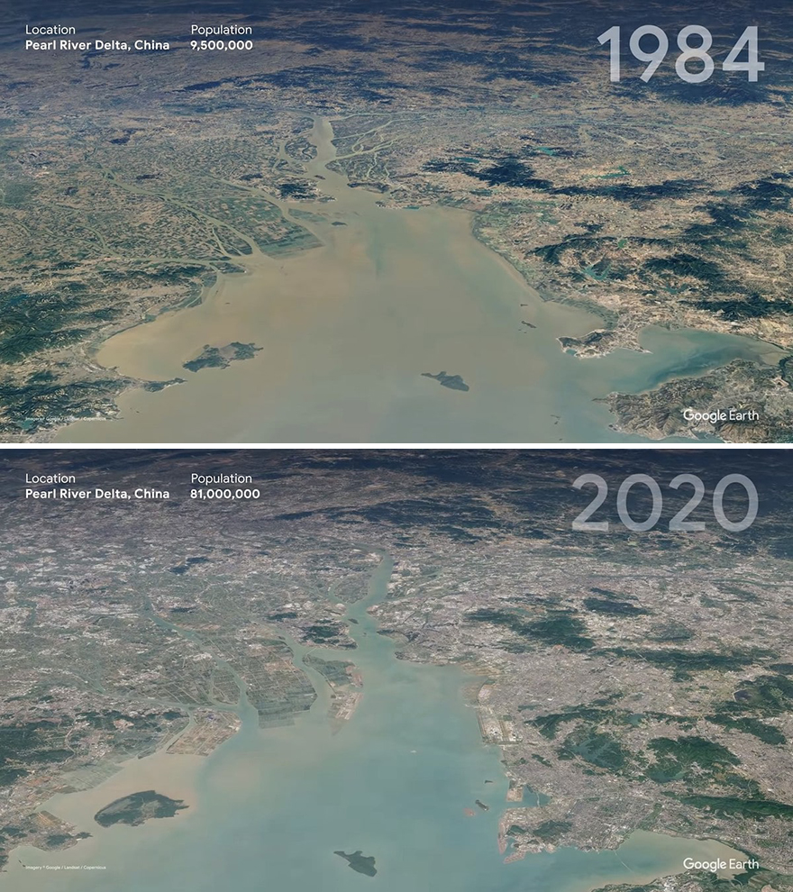 Дельта Жемчужной реки, Китай