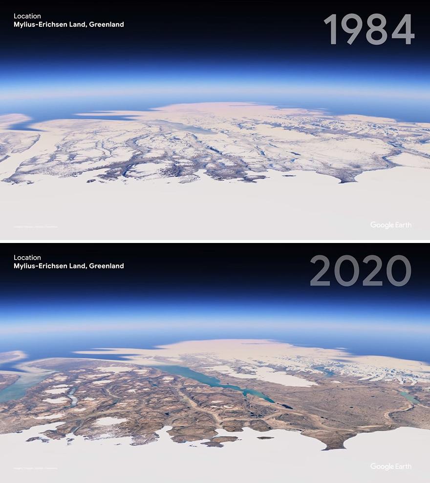 Земля Милиуса-Эриксена, Гренландия