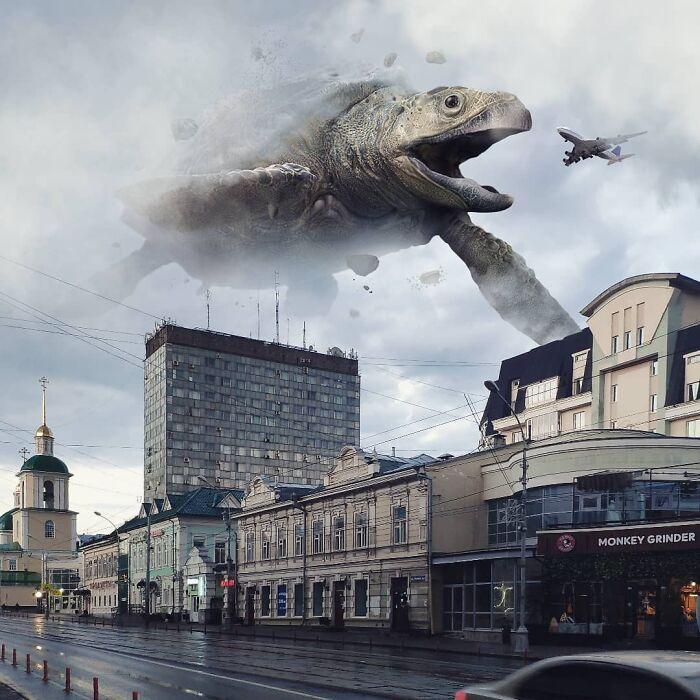 Гигантские животные в Санкт-Петербурге