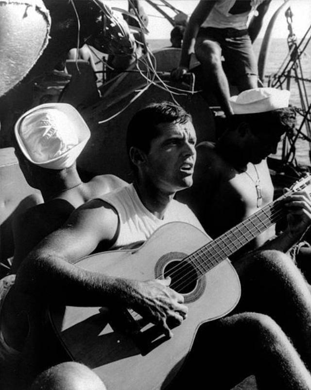 Редкие фотографии молодого Джека Николсона в 1960-х годах