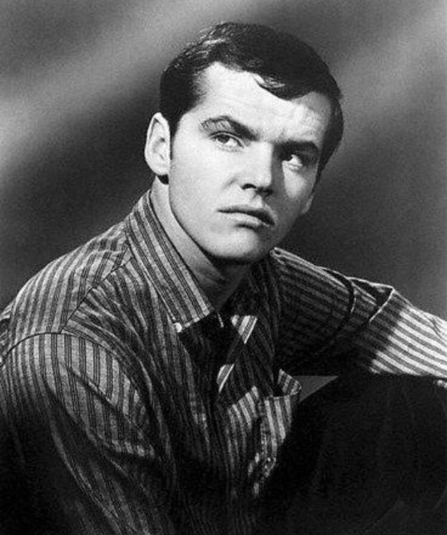 Молодой Джек Николсон в 1960-х годах