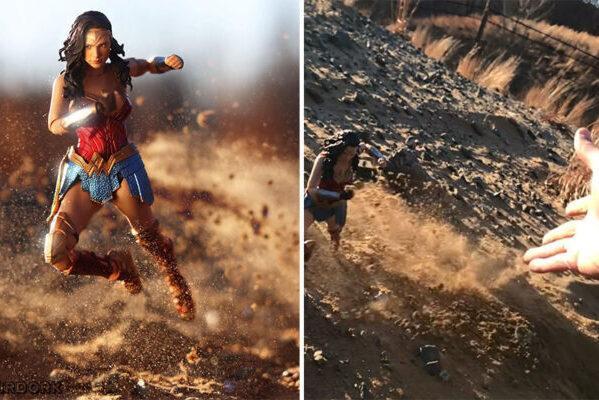Фотограф использует игрушки для создания потрясающих живых фотографий