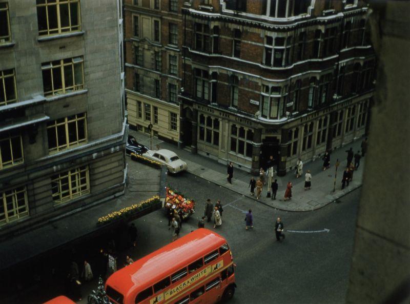 Лондон 1950-х годов