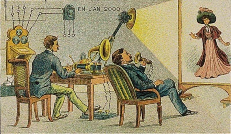 Как французы в 1900 году представляли себе жизнь в 2000 году