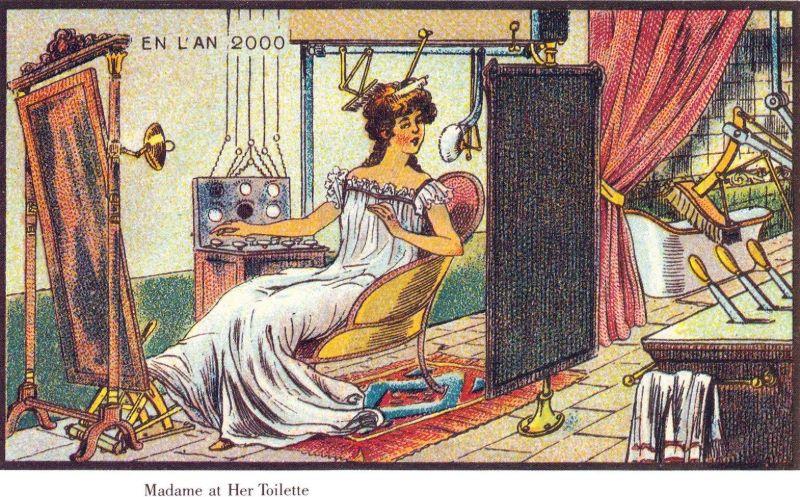 Как художники 1900-х годов представляли себе жизнь в 2000 году