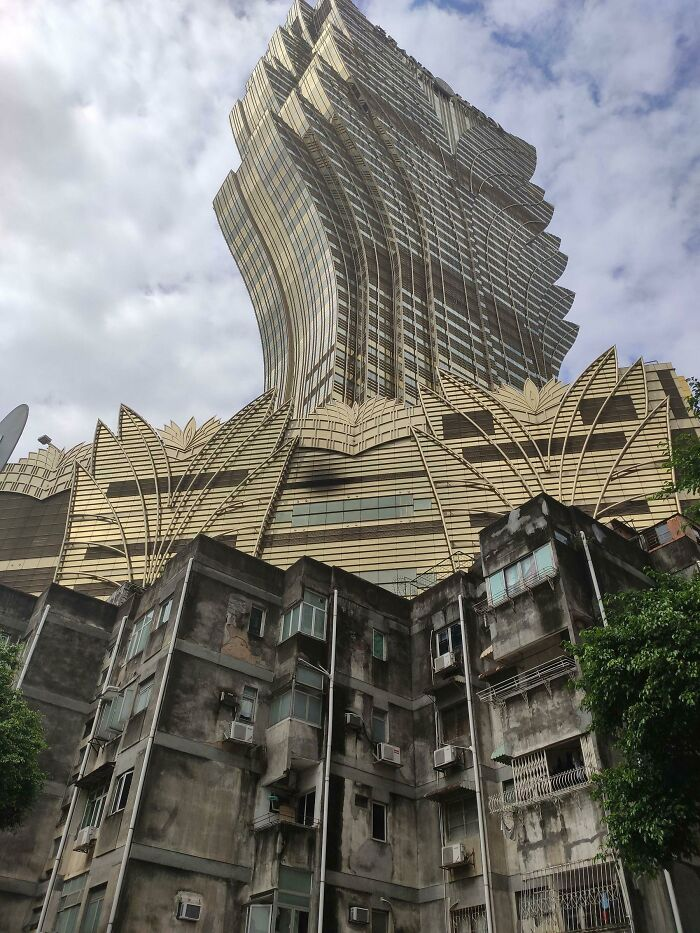 Интересная перспектива в Макао