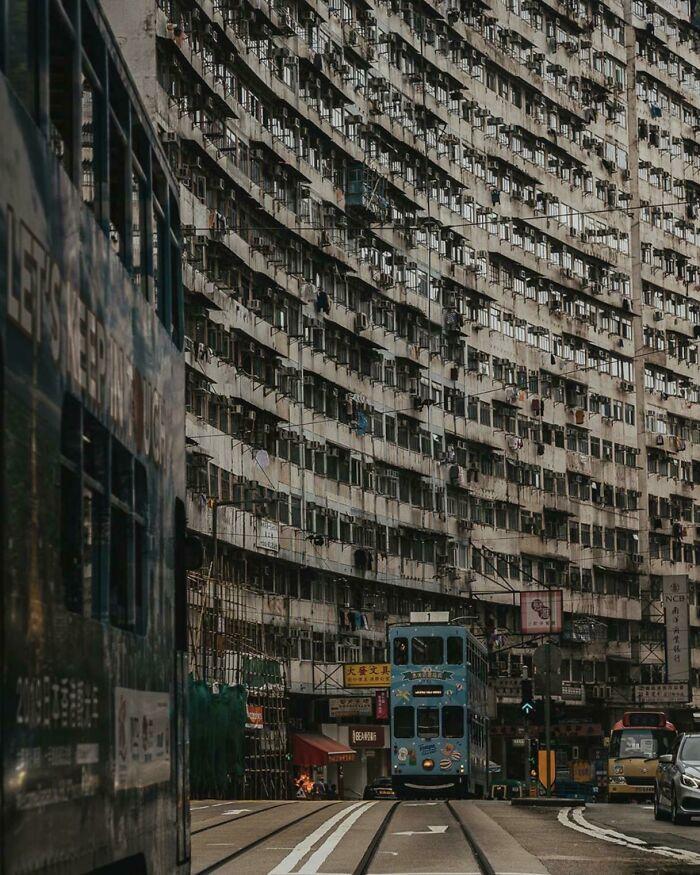 Гонконгская уличная жизнь
