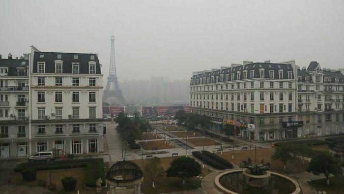 Тяньдучэн — китайский город-призрак, скопированный с Парижа