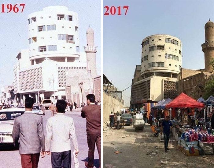 Багдад тогда и сейчас