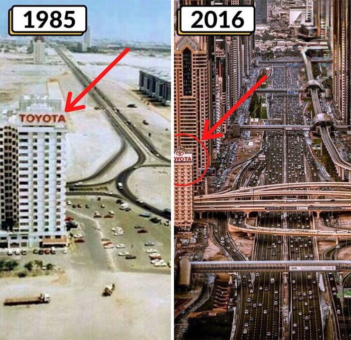 Удивительно, как быстро Дубай меняется