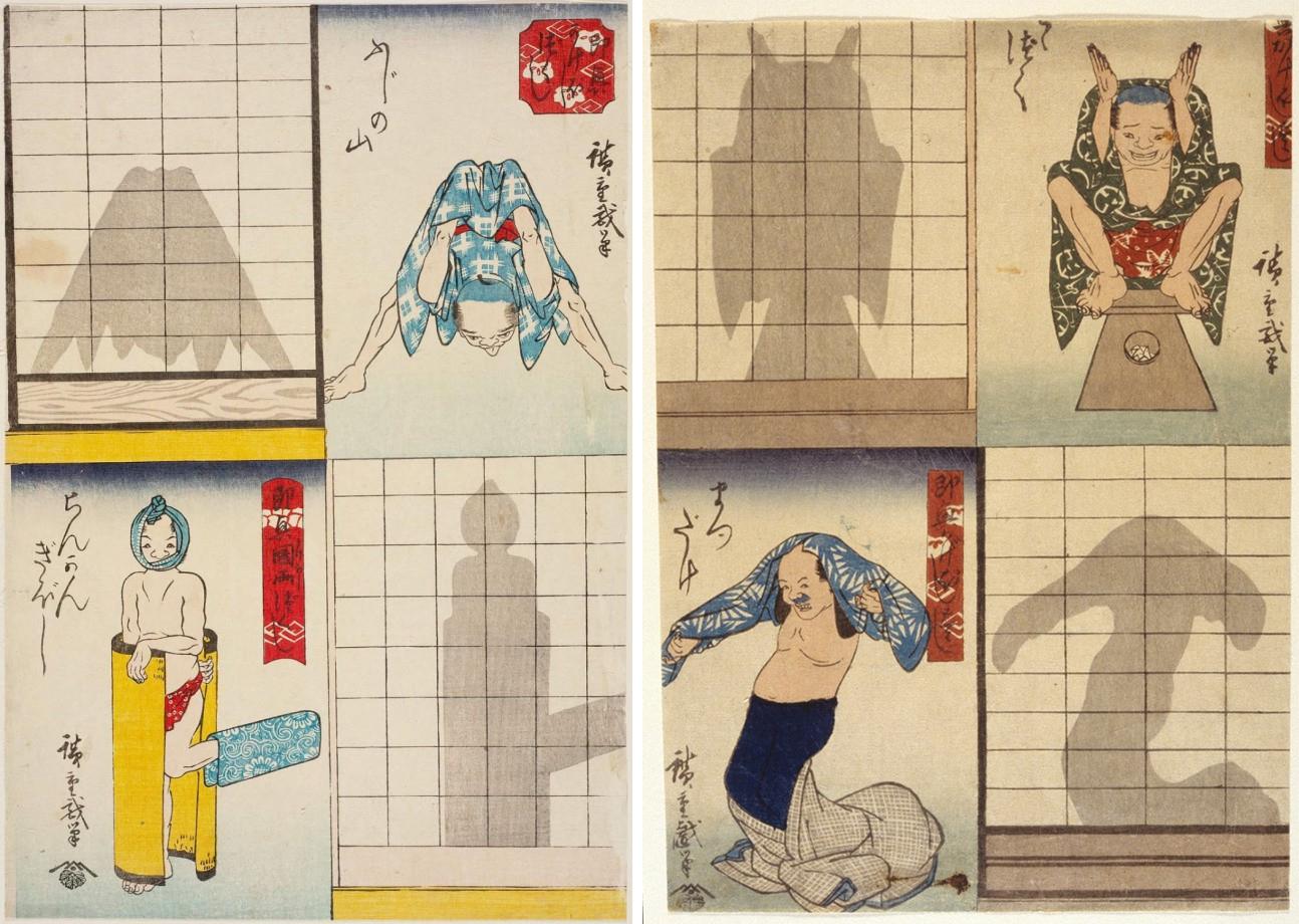 Гравюры Утагавы Хиросигэ