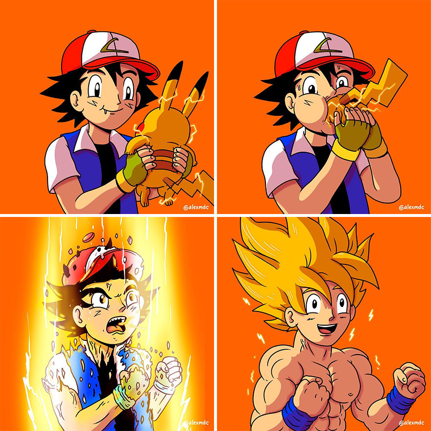 Закулисные кадры популярных персонажей поп-культуры