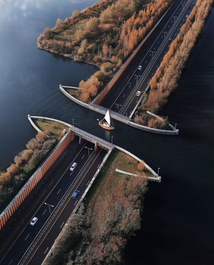 Акведук Велювемер, Нидерланды