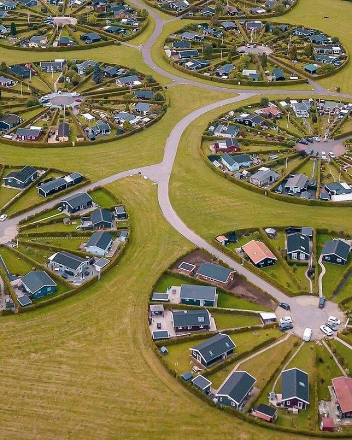 Посёлок в Дании