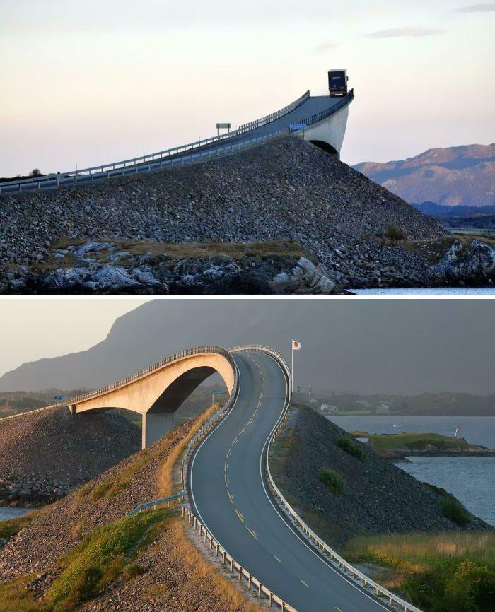 Мост Сторсейсундет, Норвегия