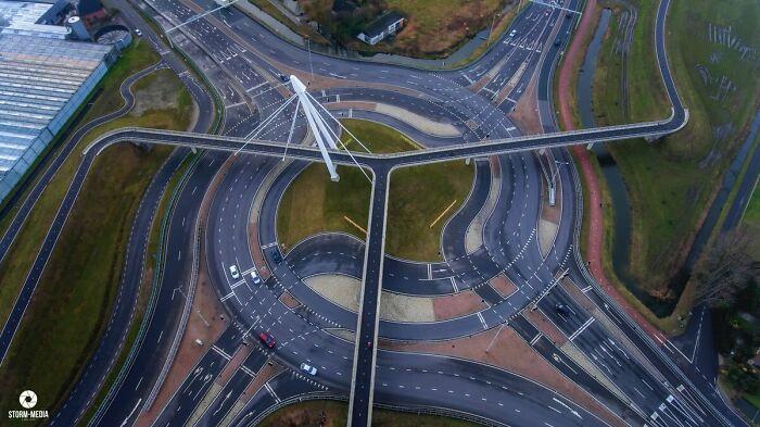 Велосипедный мост, Нидерланды