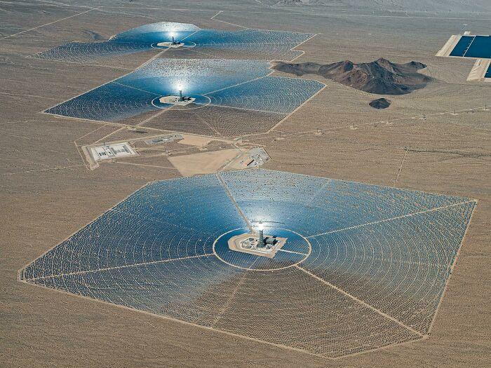 Солнечные электростанции в США