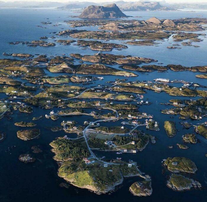 Инфраструктура архипелага в Норвегии