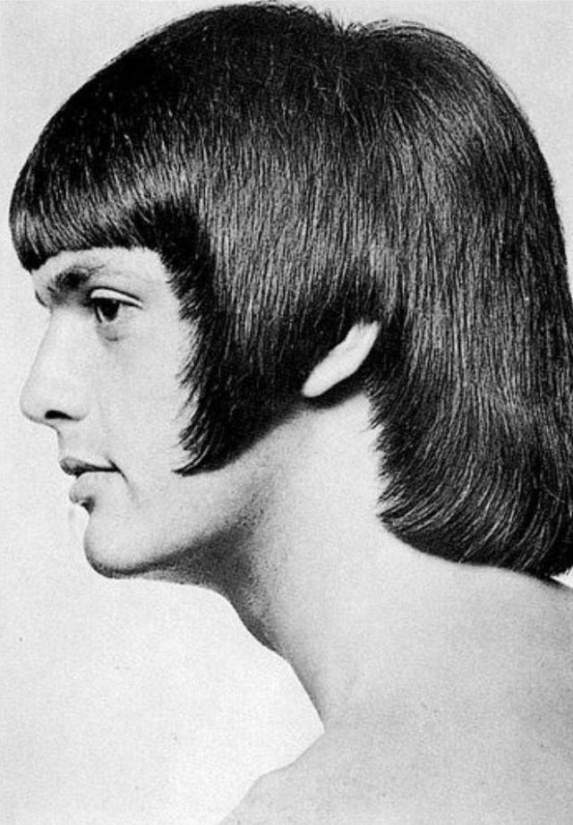 Мужские причёски 1970-х