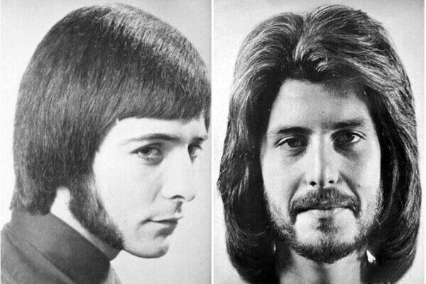 Галерея мужских причёсок 1970-х годов
