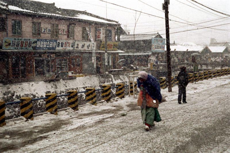 Фотографии Сеула в начале 1970-х