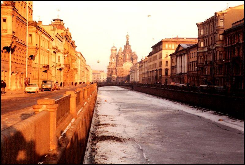Ленинград, Канал Грибоедова, 1985 год