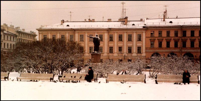 Ленинград, около Казанского собора, 1985 год