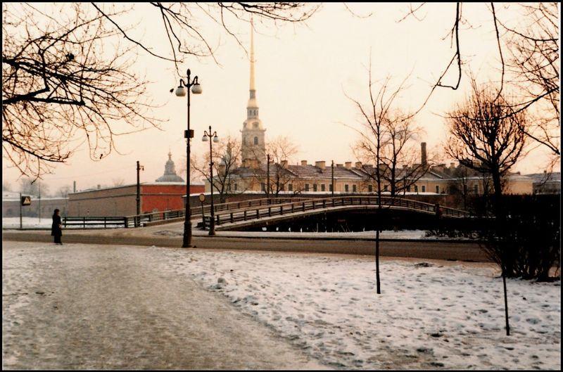 Ленинград, Петропавловская крепость, 1985 год