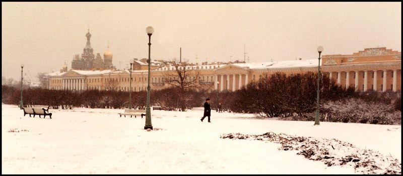 Ленинград, Марсово поле, 1985 год