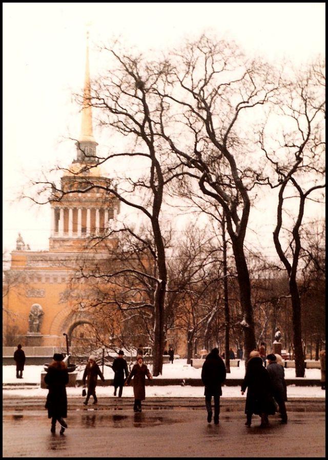 Ленинград, Главное адмиралтейство, 1985 год
