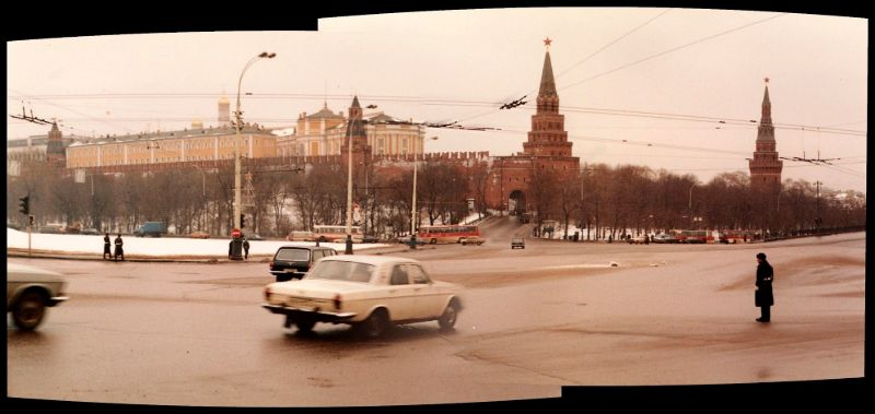 Москва, Кремль, 1985 год