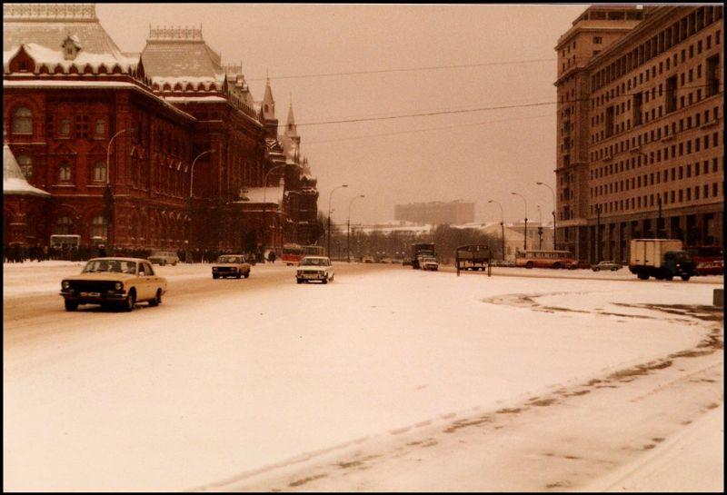 Москва, проспект Маркса, 1985 год