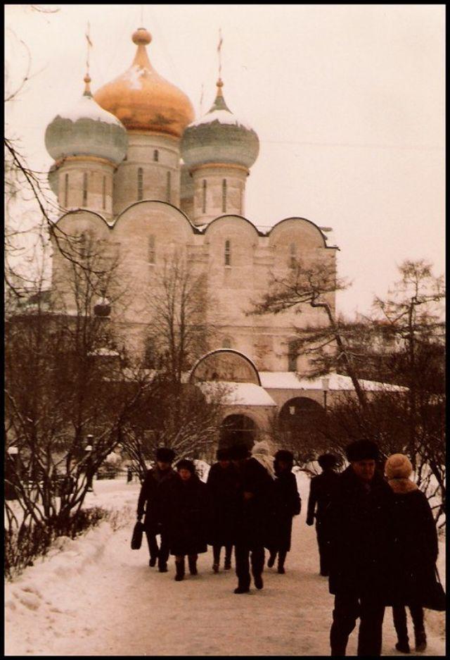 Москва, монастырь, 1985 год