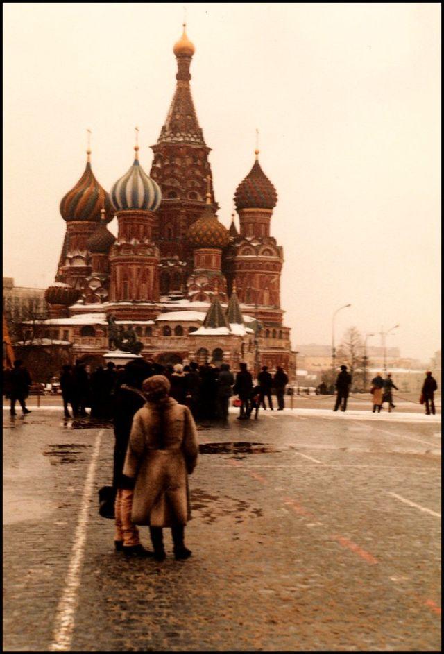 Москва, Красная площадь, 1985 год